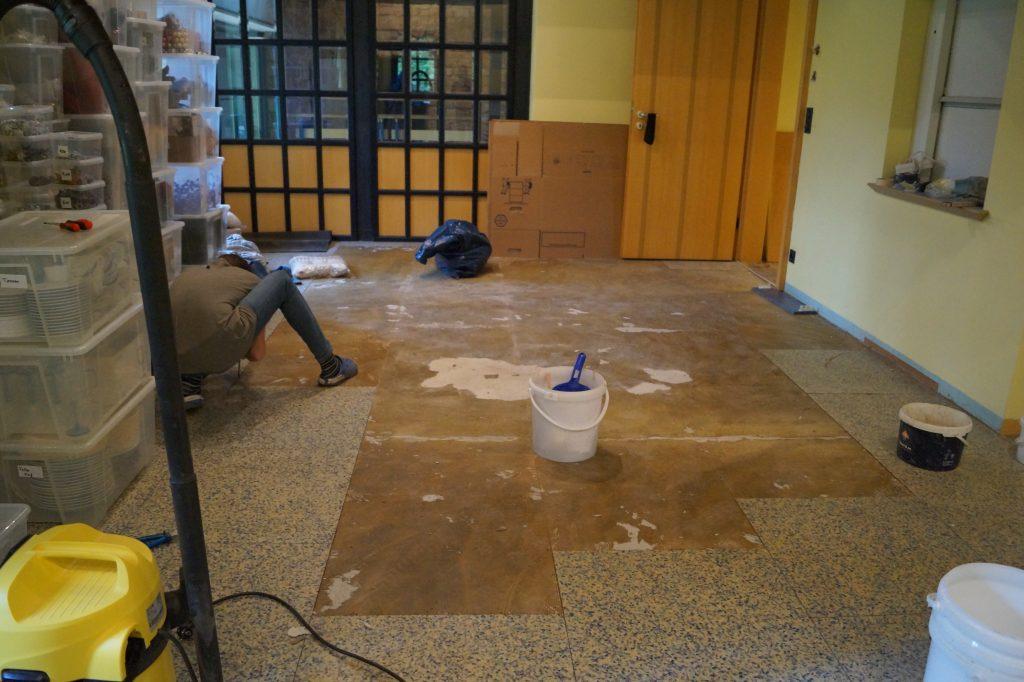 Atemberaubend Kreide Malen Küchenschränke Vor Und Nach ...